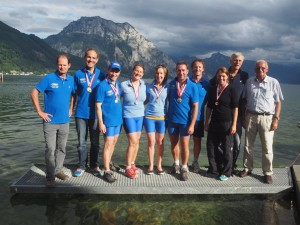 Gruppenfoto RCMO am Traunsee