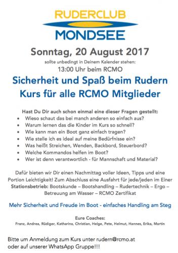 rudertechnik lernen deutsch